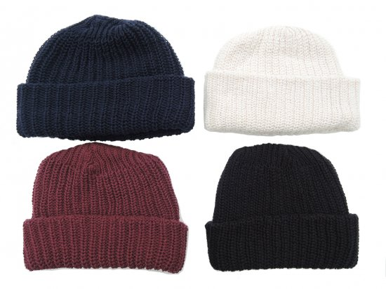 Columbiaknit コロンビアニット COTTON WATCH CAP BEANIE コットンビーニー Made in USA COLOR1
