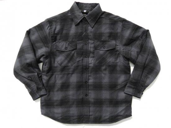 YAGO FLANNEL JACKET フランネル キルティングシャツジャケット #3H