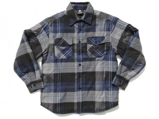 YAGO FLANNEL JACKET フランネル キルティングシャツジャケット #2E