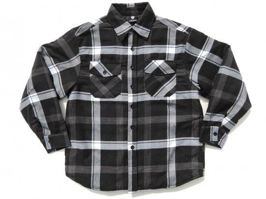 YAGO FLANNEL JACKET フランネル キルティングシャツジャケット #B1