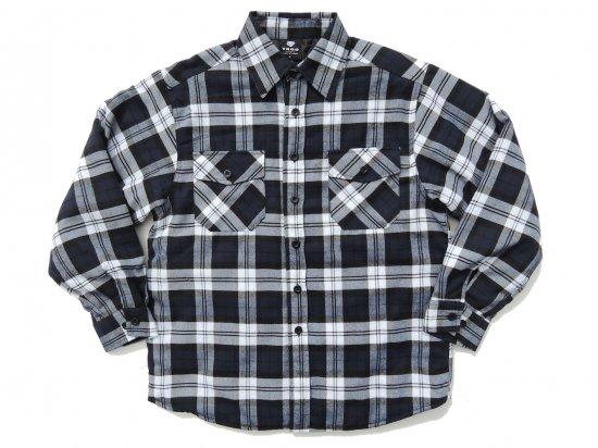 YAGO FLANNEL JACKET フランネル キルティングシャツジャケット #2F