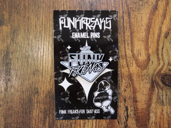 FUNK FREAKS ファンクフリークス  Trade Mark Soft Enamel  Pins