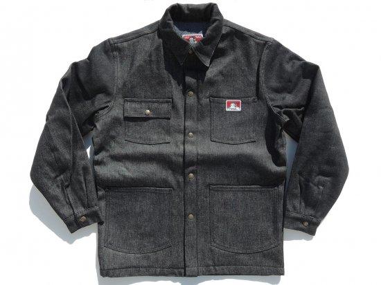 BEN DAVIS ベンデイヴィス ベンデイビス  Original Front Snap Jacket #395 Black   Denim