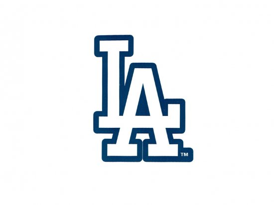 LA DODGERS  DECAL STICKER
