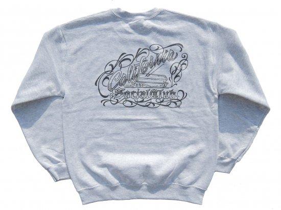 Cholo's Custom X California Social Club Collaboration SWEATSHIRTS スウェットシャツ ASH アッシュ