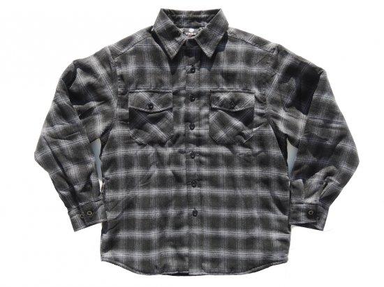 YAGO FLANNEL JACKET フランネル キルティングシャツジャケット #H1