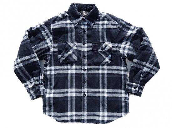 YAGO FLANNEL JACKET フランネル キルティングシャツジャケット #J2