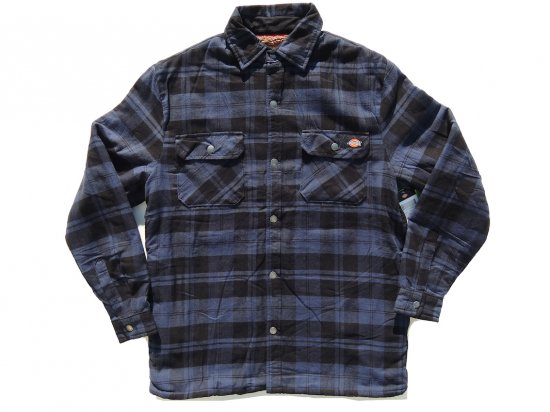 Dickies ディッキーズ #TJ210 Sherpa Lined Flannel Shirt Jacket with Hydroshield フランネルシャツジャケット