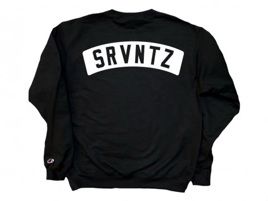 SRVNTZ サーヴァンツ Crew premium Black