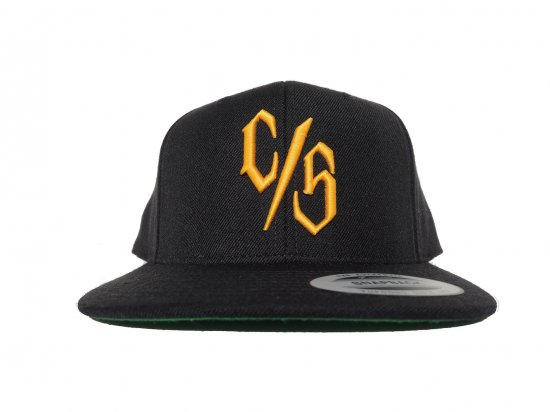 THE C/S Project C/S Snapback BK x GOLD