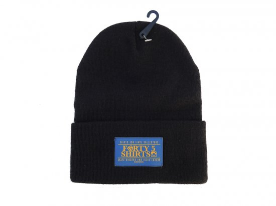 FORTY 5 SHIRTS  Logo Beanie Black