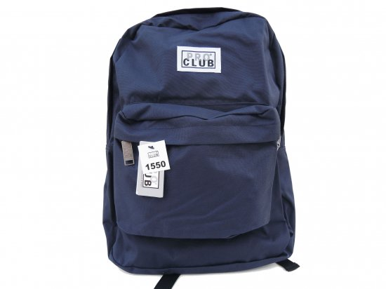 <img class='new_mark_img1' src='https://img.shop-pro.jp/img/new/icons53.gif' style='border:none;display:inline;margin:0px;padding:0px;width:auto;' />PRO CLUB プロクラブ  Backpack  #1550 NAVY