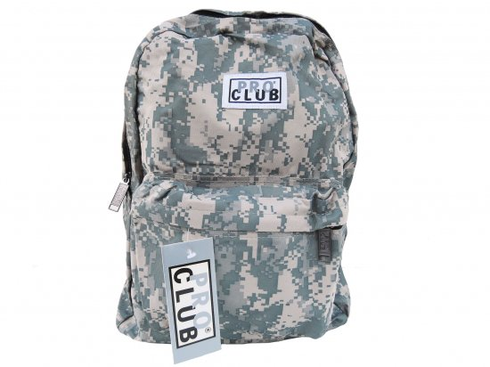 PRO CLUB プロクラブ  Backpack #1550 Green Camo