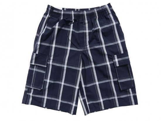 <img class='new_mark_img1' src='https://img.shop-pro.jp/img/new/icons15.gif' style='border:none;display:inline;margin:0px;padding:0px;width:auto;' />SHAKA WEAR  PLAID  SHORT PANTS  シャカ チェックショーツ #NAVY