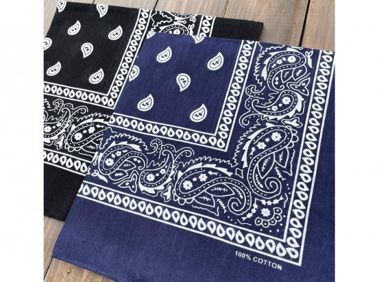<img class='new_mark_img1' src='https://img.shop-pro.jp/img/new/icons53.gif' style='border:none;display:inline;margin:0px;padding:0px;width:auto;' />Paisley Bandana バンダナ