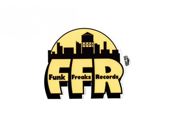 FUNK FREAKS ファンクフリークス RECORD FLIP STICKER