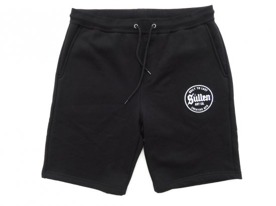 <img class='new_mark_img1' src='https://img.shop-pro.jp/img/new/icons15.gif' style='border:none;display:inline;margin:0px;padding:0px;width:auto;' />SULLEN CLOTHING CHILL SHORTS スウェットハーフPT BLACK