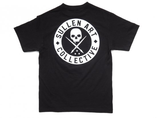 <img class='new_mark_img1' src='https://img.shop-pro.jp/img/new/icons15.gif' style='border:none;display:inline;margin:0px;padding:0px;width:auto;' />SULLEN CLOTHING CLASSIC S/S TEE BLACK