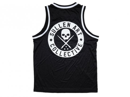 <img class='new_mark_img1' src='https://img.shop-pro.jp/img/new/icons15.gif' style='border:none;display:inline;margin:0px;padding:0px;width:auto;' />SULLEN CLOTHING BOH JERSEY TANK BLACK/WHITE ジャージータンクトップ