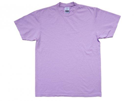 SHAKA WEAR  7.5oz Max Heavyweight Garment Dye T-shirt Pastel Purple  ガーメントダイTシャツ