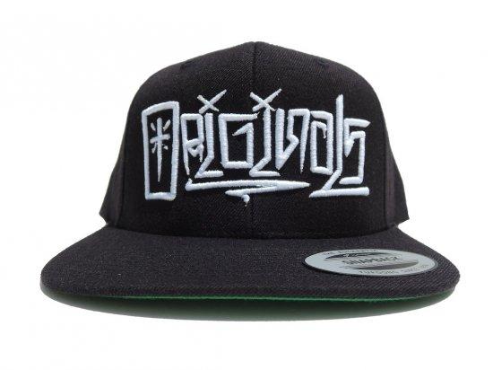 ORIGINALS  MAGAZINE オリジナルスマガジンTAG HAT (#1)  SNAPBACK CAP BLACK x WHITE