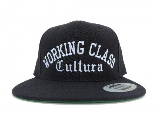 Working Class Cultura ワーキングクラスカルチュラ CLASSIC SNAPBACK  BLACKxWHITE