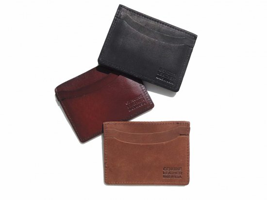 <img class='new_mark_img1' src='https://img.shop-pro.jp/img/new/icons15.gif' style='border:none;display:inline;margin:0px;padding:0px;width:auto;' />LEATHER CARD CASE   本革カードケース   USA製