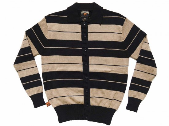 <img class='new_mark_img1' src='https://img.shop-pro.jp/img/new/icons15.gif' style='border:none;display:inline;margin:0px;padding:0px;width:auto;' />FB COUNTY  Long Sleeve Charlie Brown Shirt  Black/Tan