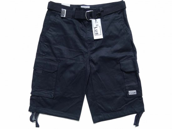 <img class='new_mark_img1' src='https://img.shop-pro.jp/img/new/icons15.gif' style='border:none;display:inline;margin:0px;padding:0px;width:auto;' />PRO CLUB プロクラブ TWILL CARGO SHORTS  ツイルカーゴパンツ NAVY