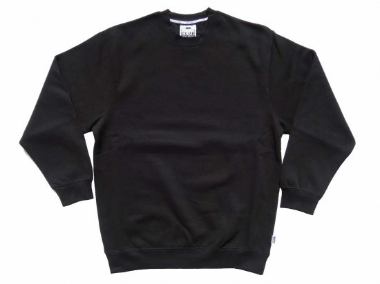 <img class='new_mark_img1' src='https://img.shop-pro.jp/img/new/icons15.gif' style='border:none;display:inline;margin:0px;padding:0px;width:auto;' />PRO CLUB プロクラブ  HeavyWeight Crew Neck Fleece Sweater 13oz クルーネックスウェット BLACK
