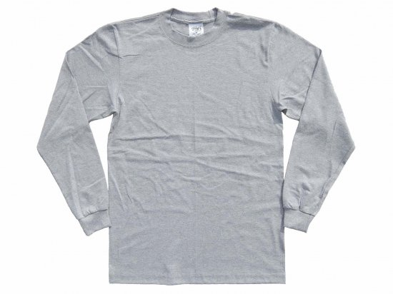 <img class='new_mark_img1' src='https://img.shop-pro.jp/img/new/icons15.gif' style='border:none;display:inline;margin:0px;padding:0px;width:auto;' />SHAKA WEAR  7.5oz Max Heavyweight Long sleeve T-shirt  ヘヴィーウェイト Tシャツ Grey