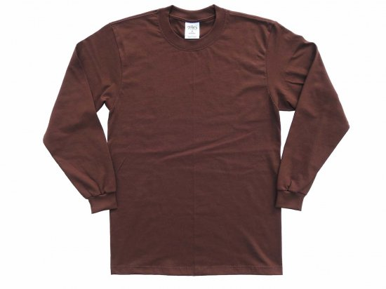<img class='new_mark_img1' src='https://img.shop-pro.jp/img/new/icons15.gif' style='border:none;display:inline;margin:0px;padding:0px;width:auto;' />SHAKA WEAR  7.5oz Max Heavyweight Long sleeve T-shirt  ヘヴィーウェイト Tシャツ BROWN