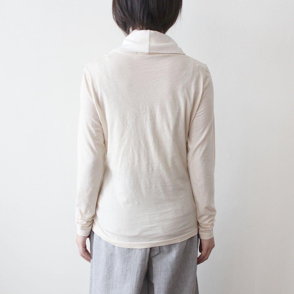 ガーゼ天竺 オフタートル 長袖 / オーガニックコットン