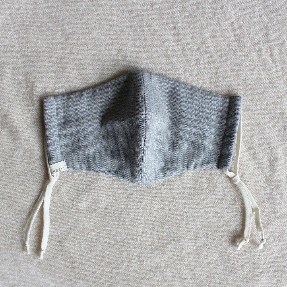 冬のオーガニックコットンギフトセット(冬マスク&パイルショート丈靴下)