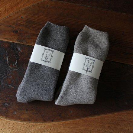 ヤクコットン パイル靴下(ロング丈) / オーガニックコットン