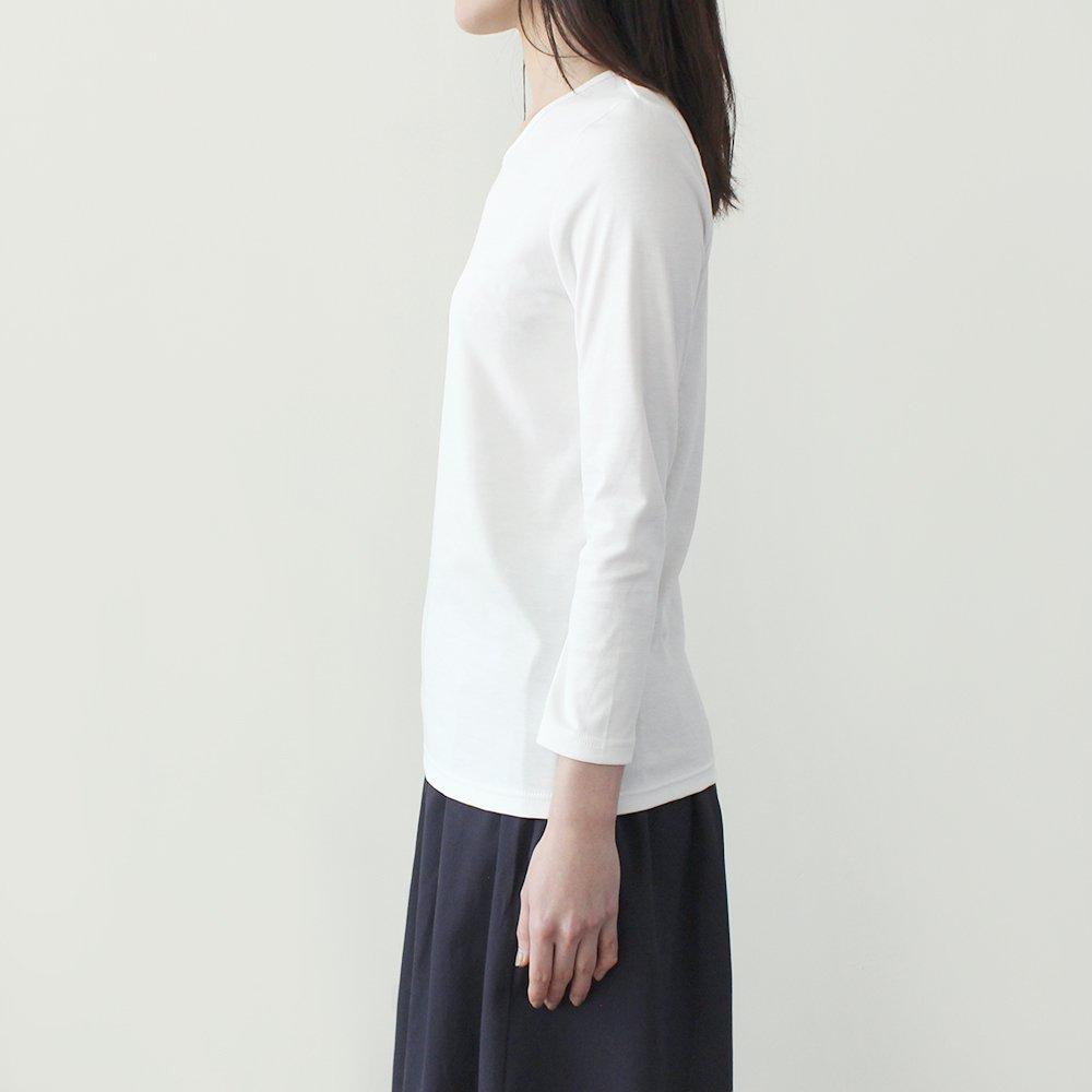 究極のオーガニックコットン 9分袖Tシャツ