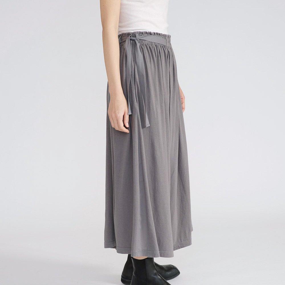 【 新色入荷 】定番 天竺ワイドパンツ / オーガニックコットン