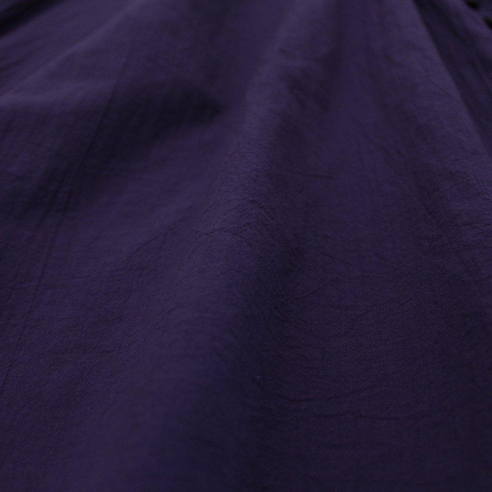 ループボタン9分袖 ブラウス / オーガニックコットン