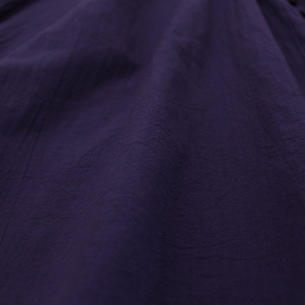 ループボタン9分袖 ワンピース / オーガニックコットン