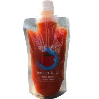 パウチボトル トマトジュース 湘南ナイン180ml [無塩、無添加]