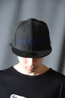 Yohji Yamamoto × NEW ERA   59FIFTY  YY SIGN black