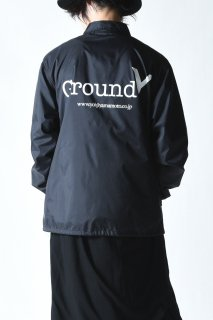 Ground Y  「GROUND Y」プリントコーチジャケット
