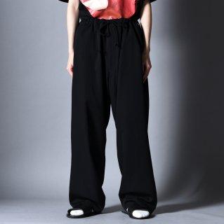 Yohji Yamamoto POUR HOMME   ウールギャバジン定番紐パンツ
