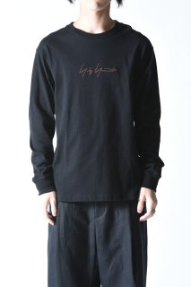 Yohji Yamamoto× NEW ERA LONG SLEEVE TEE YY LOGO black