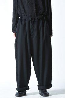 Yohji Yamamoto POUR HOMME  シワギャバ定番紐パンツ