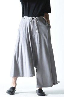 Ground Y ジャージーアシンメトリーバルーンパンツ gray