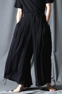 Yohji Yamamoto POUR HOMME  レーヨンバルーンカラスパンツ
