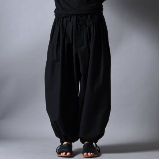 Yohji Yamamoto POUR HOMME  コットンツイルバルーンパンツ