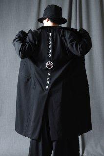 Yohji Yamamoto POUR HOMME シワギャバロング「TUXEDO PARK」ジャケット