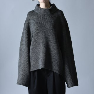 Ka na ta unmilitary knit gray